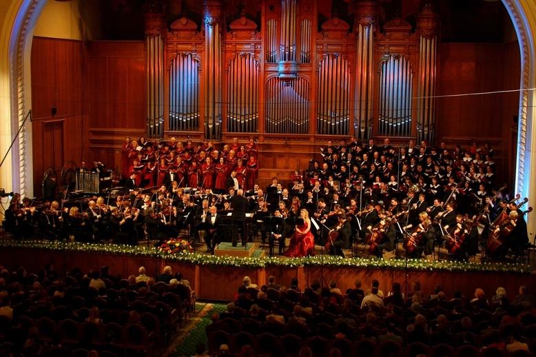 Большой зал консерватории в 1976 году
