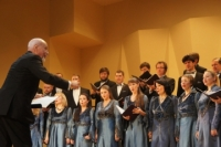 Minin's Choir goes to a mini-tour in honor of its 45th anniversary